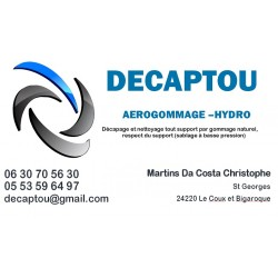 DECAPTOU- Aérogommage