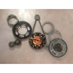 Horloge pignons et chaines