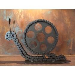 Escargot mécanique noir