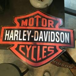 Blason Harley 40x53cm 35€