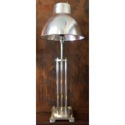 Lampe Alu 4 colonnettes