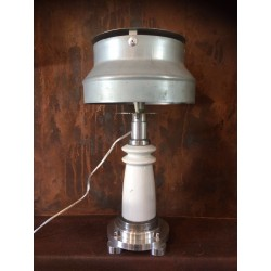 lampe isolateur porcelaine