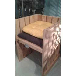fauteuil esprit palette