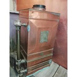 Chauffe eau en cuivre ancien
